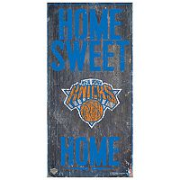 New York Knicks Home Sweet Home Wall Art