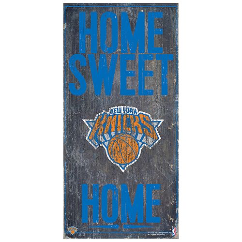 New York Knicks Home Sweet Home Wall Art