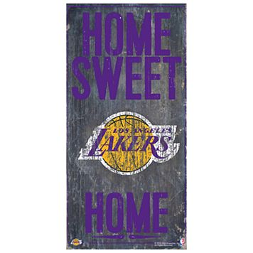 Los Angeles Lakers Home Sweet Home Wall Art