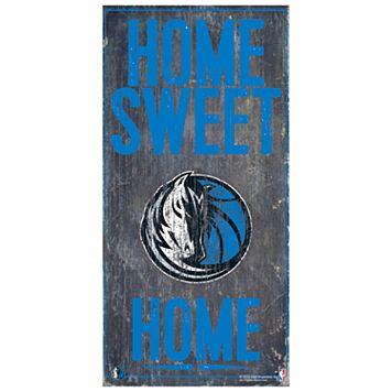 Dallas Mavericks Home Sweet Home Wall Art