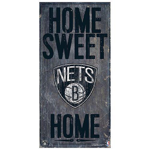 Brooklyn Nets Home Sweet Home Wall Art