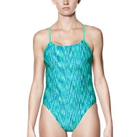 Women's Nike Performance Cutout Space-Dye One-Piece Swimsuit
