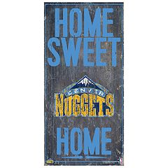 Denver Nuggets Home Sweet Home Wall Art
