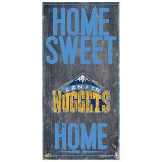 Denver Nuggets Home Sweet Home Wall Art