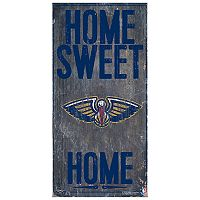 New Orleans Pelicans Home Sweet Home Wall Art