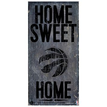 Toronto Raptors Home Sweet Home Wall Art