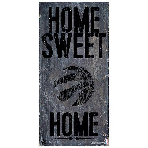 Toronto Raptors Home Sweet Home Wall Art