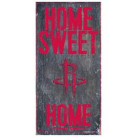 Houston Rockets Home Sweet Home Wall Art
