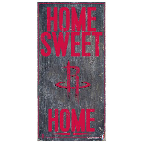 Houston Rockets Home Sweet Home Wall Art