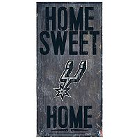 San Antonio Spurs Home Sweet Home Wall Art