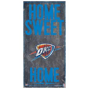 Oklahoma City Thunder Home Sweet Home Wall Art