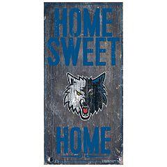 Minnesota Timberwolves Home Sweet Home Wall Art