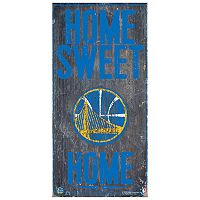 Golden State Warriors Home Sweet Home Wall Art