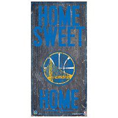 Golden State Warriors Home Sweet Home Wall Art
