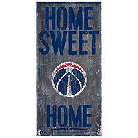 Washington Wizards Home Sweet Home Wall Art