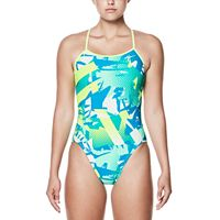 Women's Nike Performance Cutout Graphic One-Piece Swimsuit