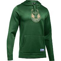 Men's Under Armour Milwaukee Bucks Fleece Hoodie
