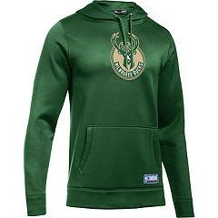 Men's Under Armour Milwaukee Bucks Fleece Hoodie