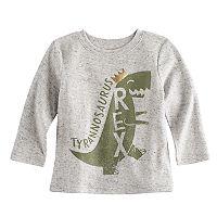 Baby Boy Jumping Beans® Tyrannosaurus Rex Dinosaur Heathered Graphic Tee