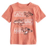 Baby Boy Jumping Beans® Snow Heathered Graphic Tee