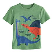 Toddler Boy Jumping Beans® Dinosaur Slubbed Graphic Tee
