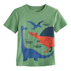 Toddler Boy Jumping Beans® Dinosaur Slubbed Graphic Tee
