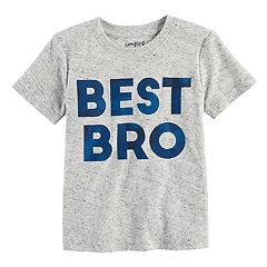 Toddler Boy Jumping Beans® 'Best Bro' Heathered Graphic Tee