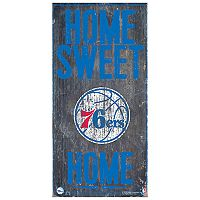Philadelphia 76ers Home Sweet Home Wall Art