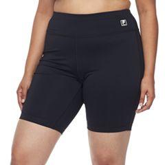Plus Size FILA SPORT® High-Waist Bike Shorts
