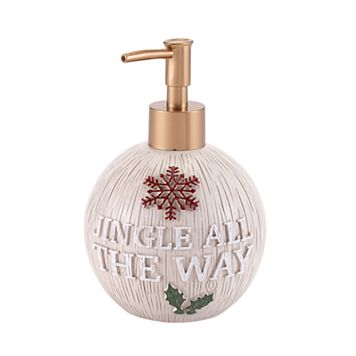 Avanti Holiday Words Soap Pump