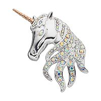 Napier Two Tone Unicorn Pin