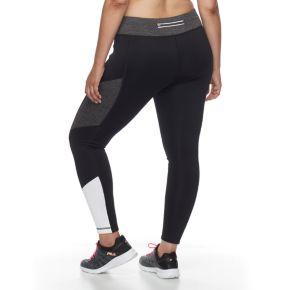 Plus Size FILA SPORT® Colorblocked Fleece Leggings