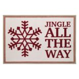 Avanti Holiday Words Bath Rug