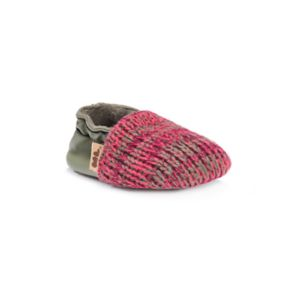 MUK LUKS Striped Baby Girls' Shoes