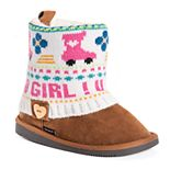 MUK LUKS Patti Girl's Ankle Boots