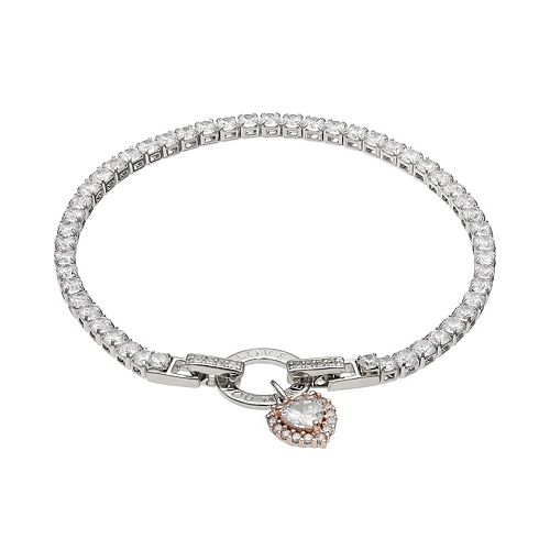 Dovetail Two Tone Cubic Zirconia