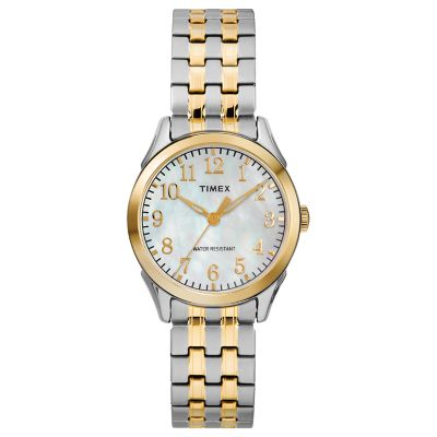 Timex Women's Style Elevated Briarwood Expansion Watch - TW2R48400JT