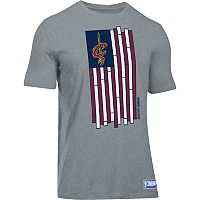 Men's Under Armour Cleveland Cavaliers Court Flag Tee