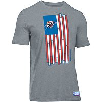 Men's Under Armour Oklahoma City Thunder Court Flag Tee