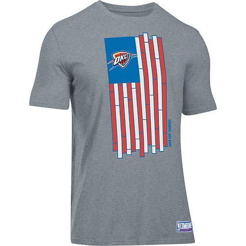 Men's Under Armour Oklahoma City Thunder Court Flag Tee