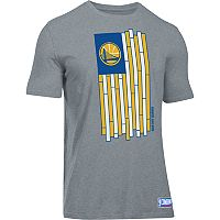 Men's Under Armour Golden State Warriors Court Flag Tee