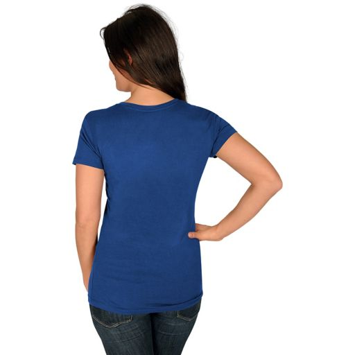 Women's Majestic Los Angeles Dodgers Got Him Chasing Tee