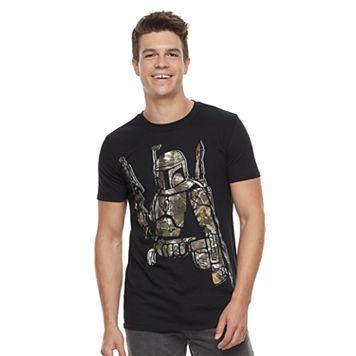 Men's Star Wars Realtree Boba Fett Graphic Tee