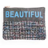 "love this life ""Beautiful"" Cosmetic Pouch"