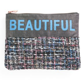 """love this life """"Beautiful"""" Cosmetic Pouch"""