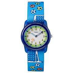 Timex Kids' Soccer Time Teacher Watch - TW7C16500XY