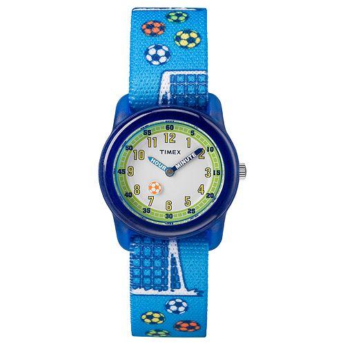 Timex Kids' Soccer Time Teacher Watch - TW7C16500XY