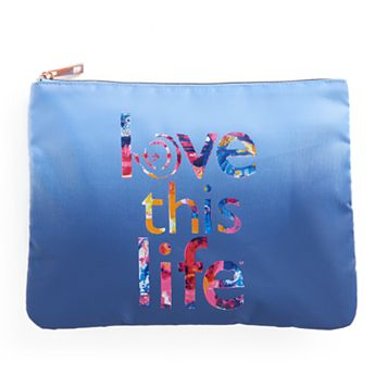 love this life Ombre Cosmetic Pouch