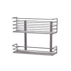 Hinge-It Cabinet Door 2-Tier Storage Rack