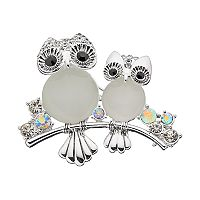 Napier Owl Duo Pin